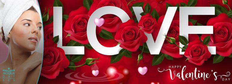 Valentine's Day Specials at Acqua Day Spa